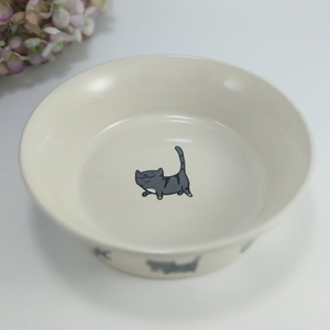 Add To CompareShare Personalized Printing Multiple Sizes Round Shape Lovely Ceramic Pet Dog Bowl