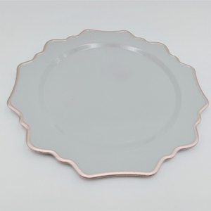 Wholesale Hotel Plastic Serving Dishes Plates