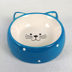Wholesale New Creative White Custom Small Soup Pet Dog Ceramic Bowl
