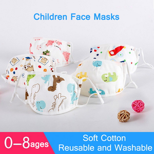 CE FDA Lovely Pattern Face Mask For Kids 3 Ply PM2.5 Reusable Face Mask Children Masks