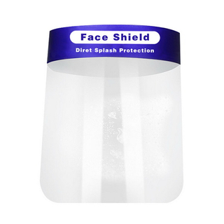 NEW Product Clear Vision Reusable Face Shield Anti Virus