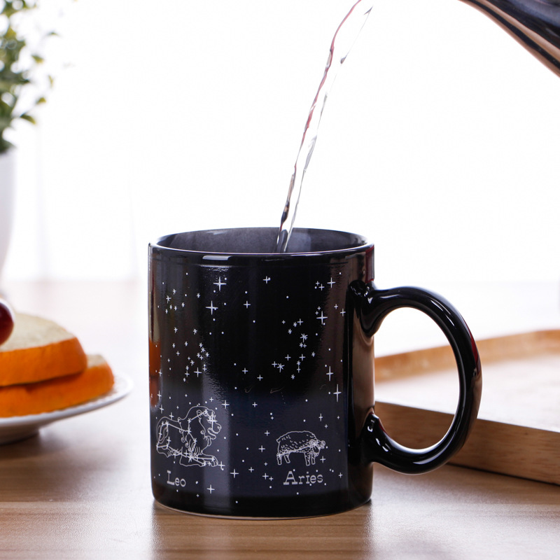 High Quality Color Changing Ceramic Mug Custom Sublimable Magic Mug