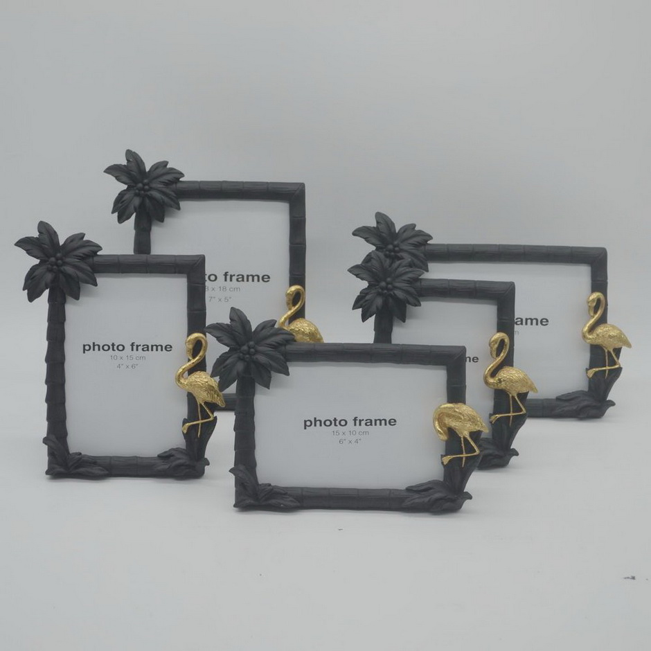 Wholesale New Material Tabletop Decoration Resin Photo Frame