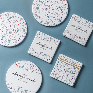 Ceramic Coaster Absorbent Stone Drink Coasters