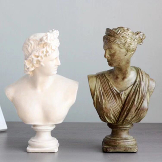 Hot Sale Personalized Handmade Polyresin Marble David Statue