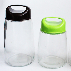 1oz 3oz 6 Oz 12 Oz 16oz 26oz Glass Jar with Lids Food Storage Jar