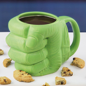 Invincible Hulk Fist Ceramic Cup