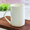 Mark cup custom bone China phnom penh corner cup ceramic activity gift promotion cup plus logo