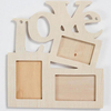 Most Popular Creative House Shape Wooden Photo Frame for Kids