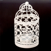 Bird Cage Metal Candle Holder Hollow Out Iron Decorative Centerpiece