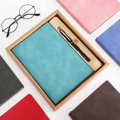 ECO Book Coil Notebook with Paper Pen Recyclable Elastic Band Notebook for Promotion Gift