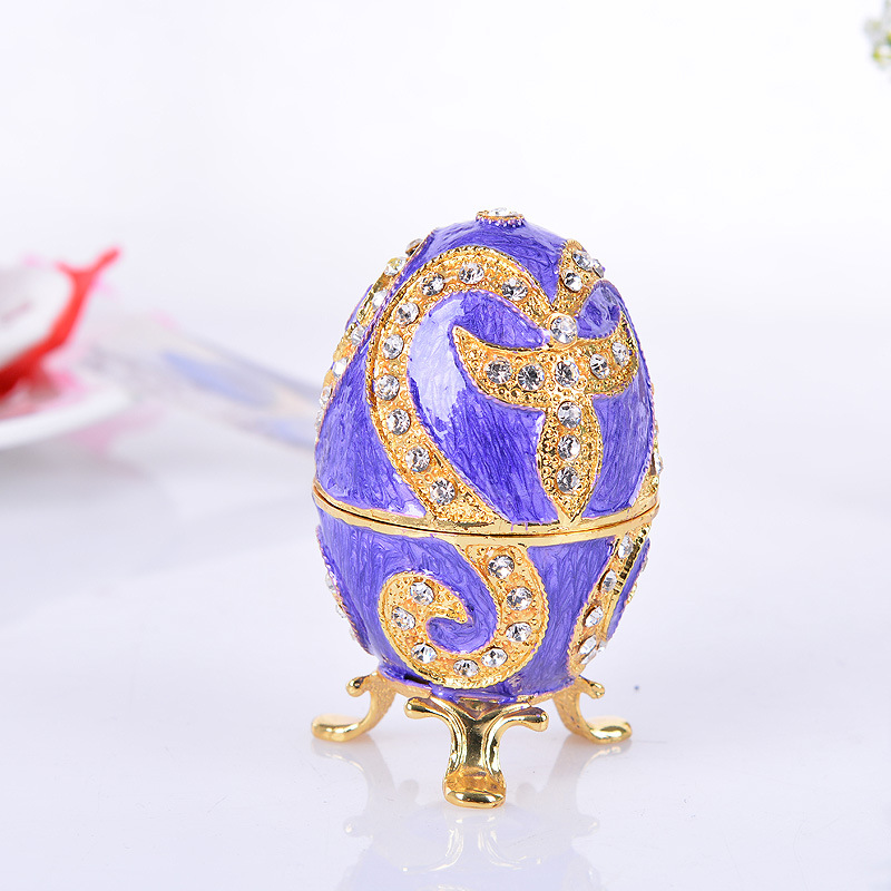 Fashion Jewelry Box Size S Zinc-alloy Metal Trinket Box Vintage Piano Shaped Romantic Gifts