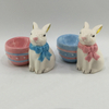 Small Size Nordic Style Ceramic Lovely Rabbit INS Home Decoration