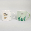 Printed Logo Decal Ceramic Mug Cup From China Porcelain Mug Factory