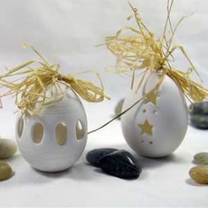 Easter Egg Ceramic Painting Egg with Drawing Set