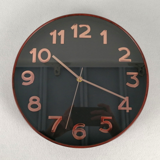 Plastic Face Cover Fancy Quartz Analog Wall Clocks