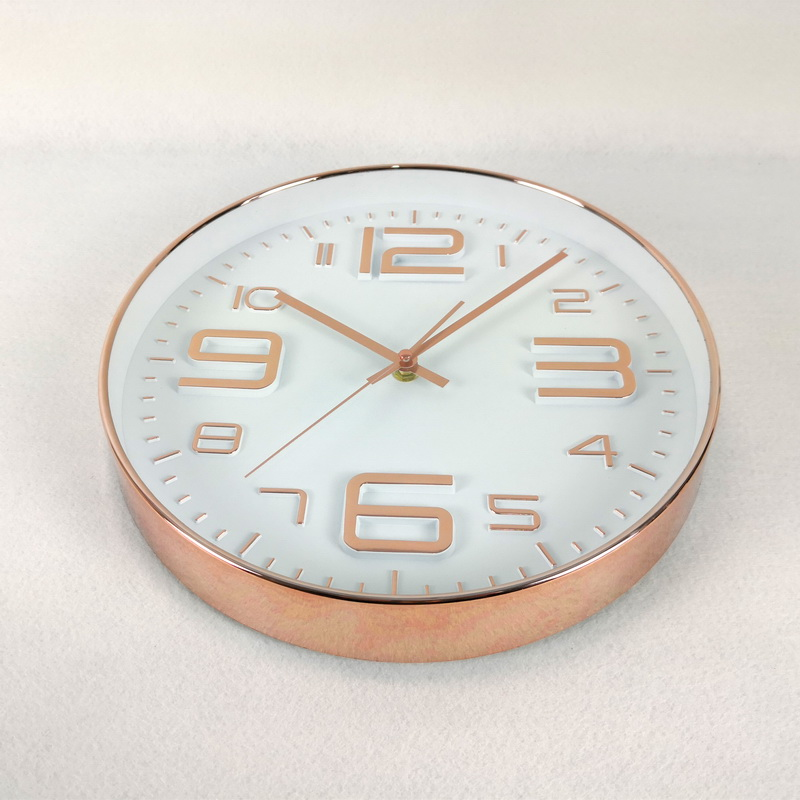 Round Shape Promotion Plastic Wall Clock From China