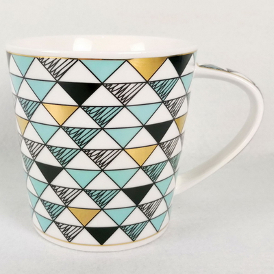 Wholesale unique design customize logo decal ceramic coffee mug