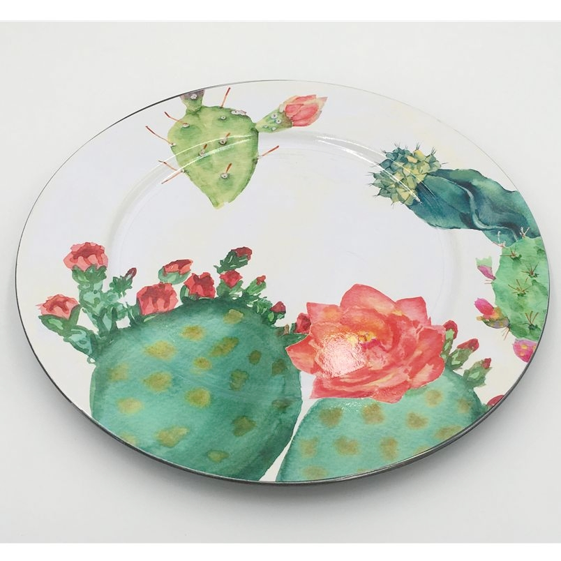 Antique Restaurant Decorative Plastic Plates Dinner Divided Melamine Plate
