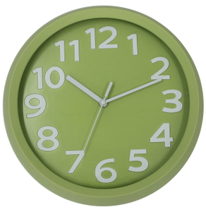 Colorful High Quality 3D Numbers Mini Wall Clock for Kid Room