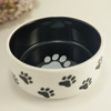 Hot Sale Water And Feeding Use Stoneware Pet Ceramic Dog Bowl For Food