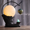 Vintage style Incense Burner Lotus Shape Backflow Incense Burner Stick Incense Holder