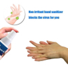 Wholesale in Stock 50ml Portable Mini Waterless 75% Alcohol Hand Sanitizer Gel