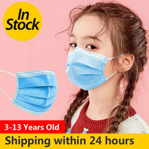 Basic Style Disposable Mask Children Face Mask