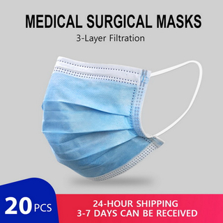China Medical Surgical Mask CE FDA Certification Nonwoven Disposable Face Mask