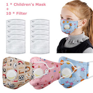 Cartoon Face Shield H0T5f Cartoon Cotton Children Face Mask