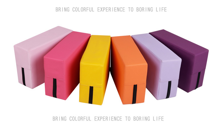 Yoga block anti-pressure anti-skid yoga fitness auxiliary movement tools dance yoga block is not easy to deform