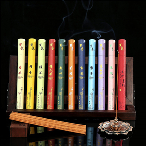 40 Sticks Natural Line Incense Sandalwood Rose Summer Mosquito Repellent Clean Air Indoor Spices Freshener Aromatherapy