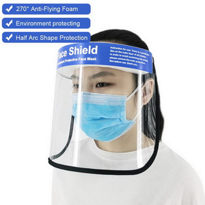 Hot Selling Factory Price Safety Faceshield Anti-fog Protection Plastic Face Shields