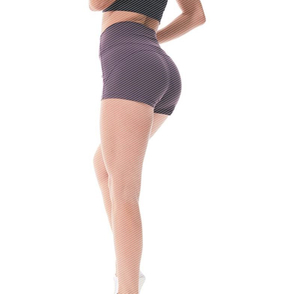 Yoga shorts higher female waist and buttock breathable expos