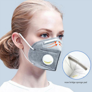 Wholesale In Stock 20-Pack Particulate KN95 N95 Respirator Disposable Face Mask with Valve