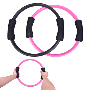 1PC Pilates Ring Magic Circle Dual Grip Sporting Goods Yoga Ring Exercise Fitness Body Massage Loop Lose Weight Equipment
