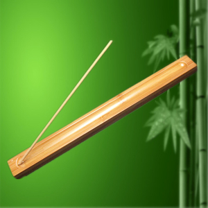 New High Quality 1Pc Bamboo Material Stick Incense Plate Incense Holder Fragrant Ware Stick Incense Burner Sage