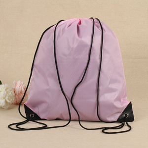 Standard Drawstring Backpack Bag Nylon Drawstring Bag Nylon Bag