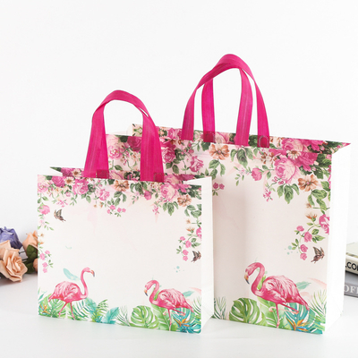 OEM Eco Friendly Non Woven Shopping Bag Recyclable Grocery Laminated PP Non-Woven Tote Bag