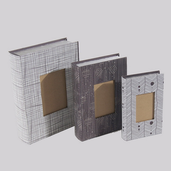 Canvas Book Shaped Fake Book Box