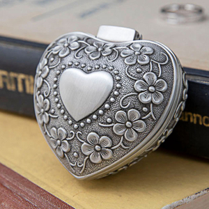 Rhinestone Ornament Zinc Alloy Jewelry Beads Rosary Gift Box