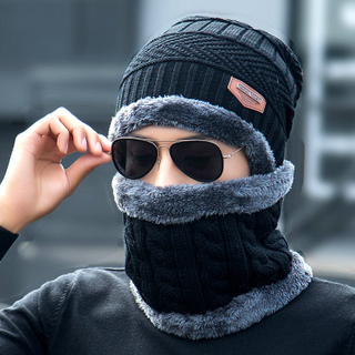High Quality Wool Cable Knit Beanie Hat Custom Winter Hats Beanie with Logo