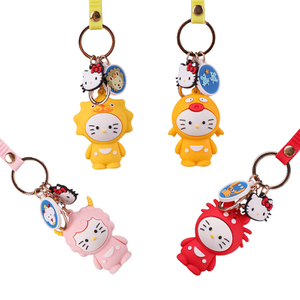 Best Selling Customized Design Double Side Rubber Soft Wholesale Price ODM/OEM Cute PVC Key Chain