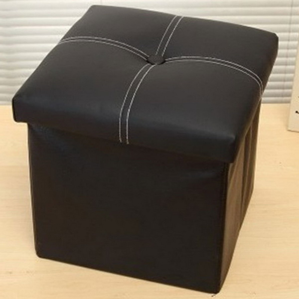 Printed Folding Storage ottoman /Storage stool /Storage seat