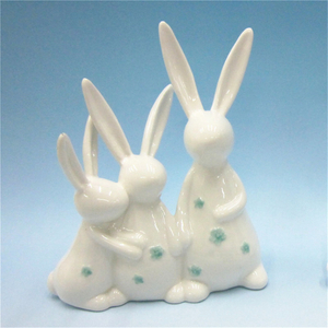Hotsale Colorful Ceramic Rabbit for Easter Event