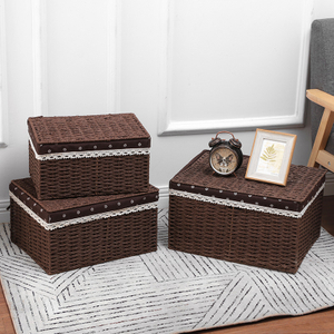 hand weaved environmentally willow picnic basket