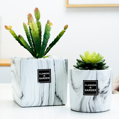 Ceramic Color High-end Flower Pot Planters Pots