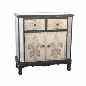 American Bedside Table Antique Classic Luxury Wooden Design Mirror Furniture
