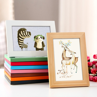 8x10 Cheap Custom Style Wooden Picture Photo Frame In Bulk
