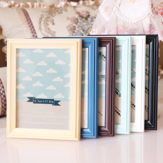 Home Decoration Gift Brown Solid Wood Photo Frame